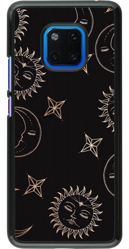 Coque Huawei Mate 20 Pro - Suns and Moons