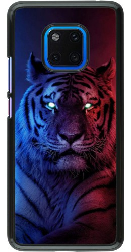 Coque Huawei Mate 20 Pro - Tiger Blue Red