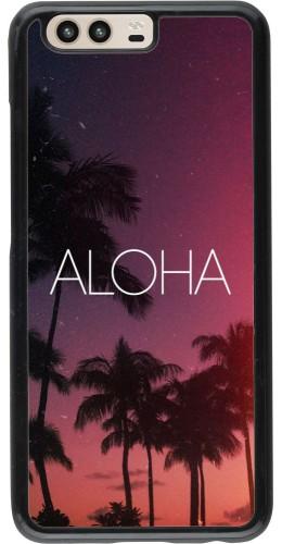 Coque Huawei P10 - Aloha Sunset Palms