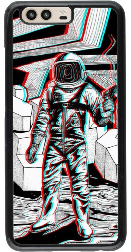 Coque Huawei P10 - Anaglyph Astronaut