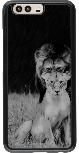 Coque Huawei P10 - Angry lions