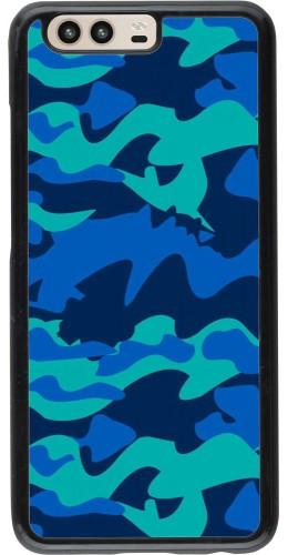 Coque Huawei P10 - Camo Blue