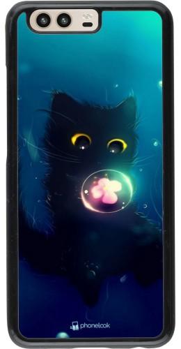 Coque Huawei P10 - Cute Cat Bubble