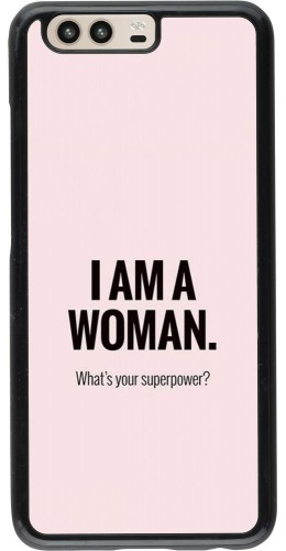 Coque Huawei P10 - I am a woman