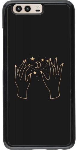 Coque Huawei P10 - Grey magic hands