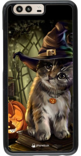 Coque Huawei P10 - Halloween 21 Witch cat