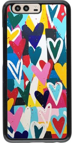 Coque Huawei P10 - Joyful Hearts
