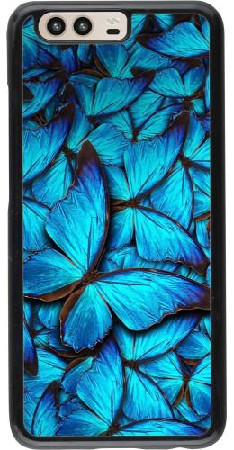 Coque Huawei P10 - Papillon bleu
