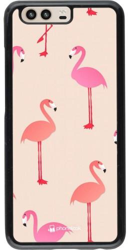 Coque Huawei P10 - Pink Flamingos Pattern