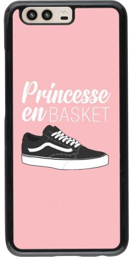 Coque Huawei P10 - princesse en basket