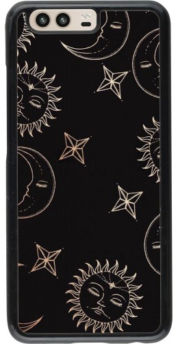 Coque Huawei P10 - Suns and Moons