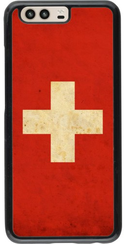 Coque Huawei P10 - Vintage Flag SWISS