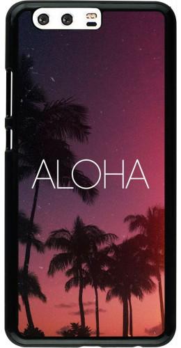 Coque Huawei P10 Plus - Aloha Sunset Palms
