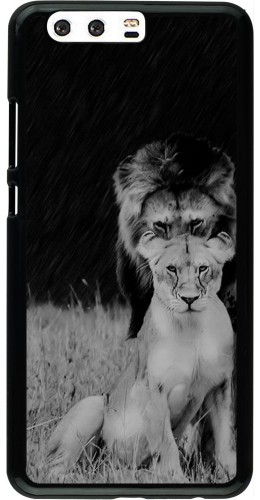 Coque Huawei P10 Plus - Angry lions