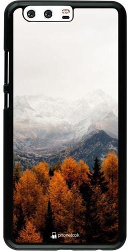 Coque Huawei P10 Plus - Autumn 21 Forest Mountain