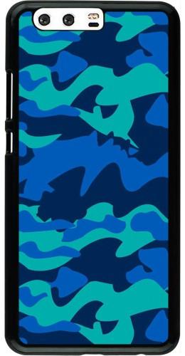 Coque Huawei P10 Plus - Camo Blue