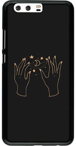 Coque Huawei P10 Plus - Grey magic hands