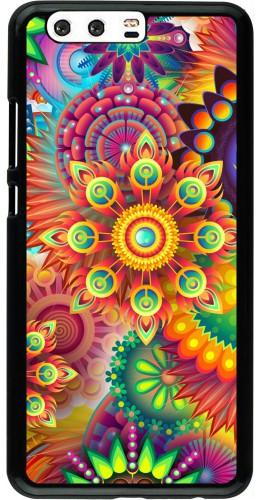 Coque Huawei P10 Plus - Multicolor aztec