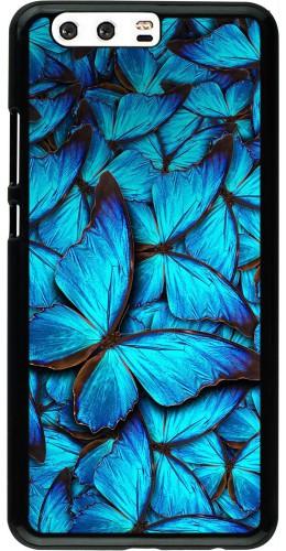 Coque Huawei P10 Plus - Papillon bleu
