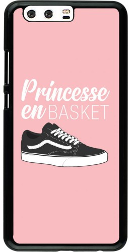 Coque Huawei P10 Plus - princesse en basket