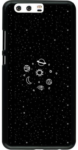 Coque Huawei P10 Plus - Space Doodle