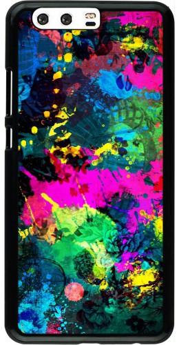 Coque Huawei P10 Plus - splash paint