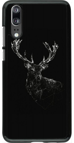 Coque Huawei P20 - Abstract deer