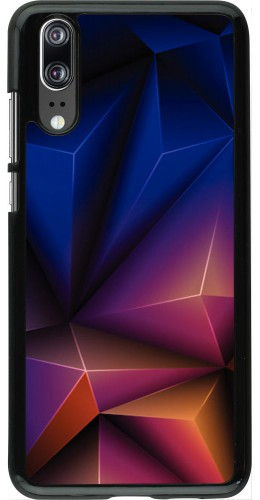 Coque Huawei P20 - Abstract triangles