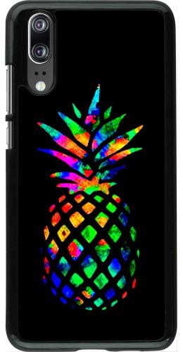 Coque Huawei P20 - Ananas Multi-colors