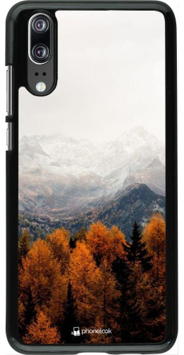 Coque Huawei P20 - Autumn 21 Forest Mountain