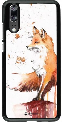 Coque Huawei P20 - Autumn 21 Fox