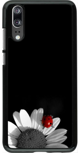 Coque Huawei P20 - Black and white Cox