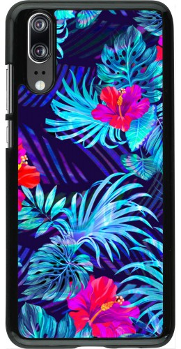 Coque Huawei P20 - Blue Forest