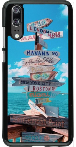 Coque Huawei P20 - Cool Cities Directions