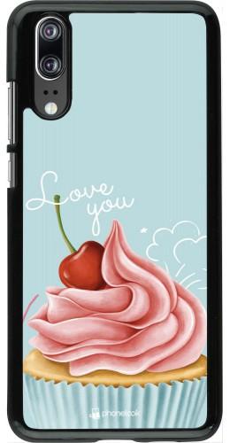 Coque Huawei P20 - Cupcake Love You