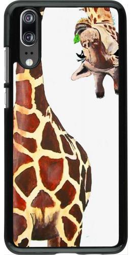 Coque Huawei P20 - Giraffe Fit