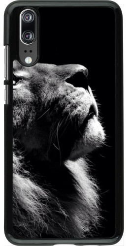 Coque Huawei P20 - Lion looking up