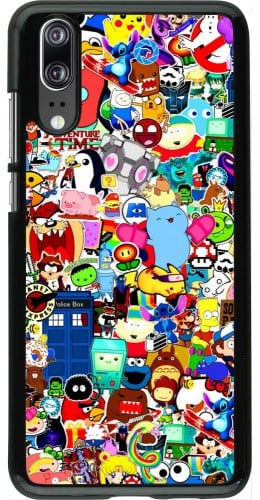 Coque Huawei P20 - Mixed cartoons