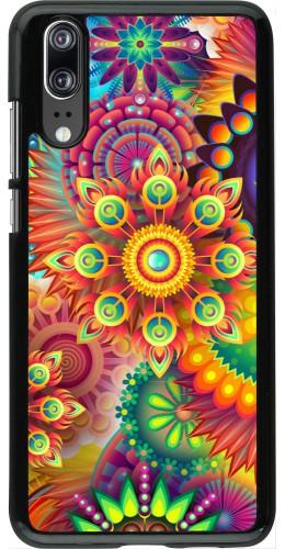 Coque Huawei P20 - Multicolor aztec