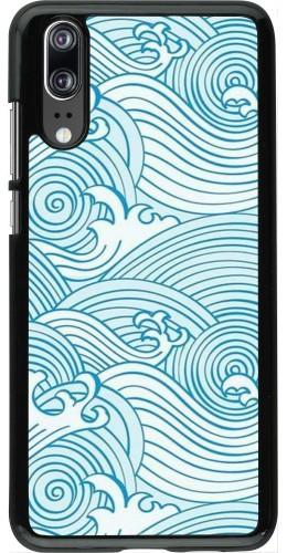 Coque Huawei P20 - Ocean Waves