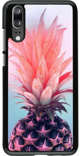 Coque Huawei P20 - Purple Pink Pineapple