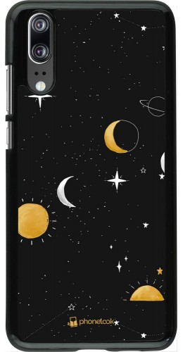 Coque Huawei P20 - Space Vector