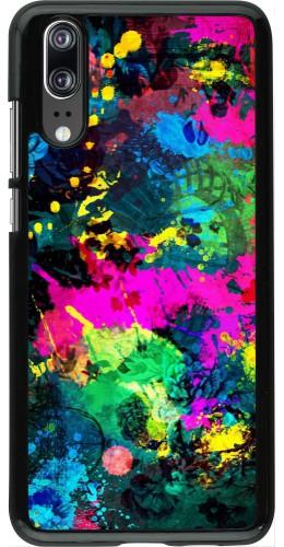 Coque Huawei P20 - splash paint