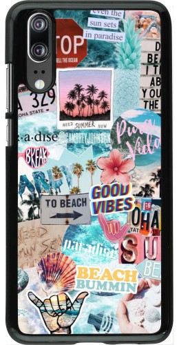 Coque Huawei P20 - Summer 20 collage