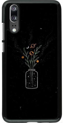 Coque Huawei P20 - Vase black
