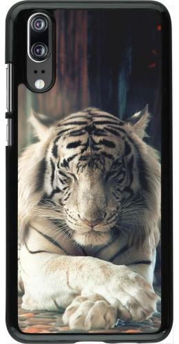Coque Huawei P20 - Zen Tiger