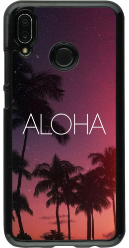 Coque Huawei P20 Lite - Aloha Sunset Palms