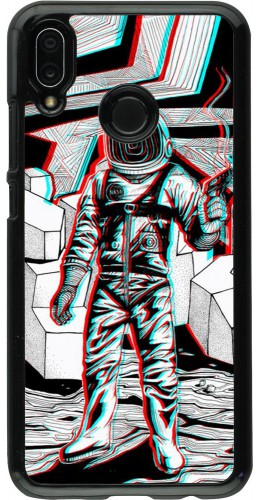 Coque Huawei P20 Lite - Anaglyph Astronaut