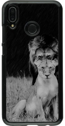 Coque Huawei P20 Lite - Angry lions