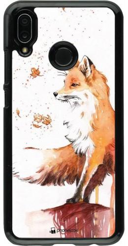 Coque Huawei P20 Lite - Autumn 21 Fox